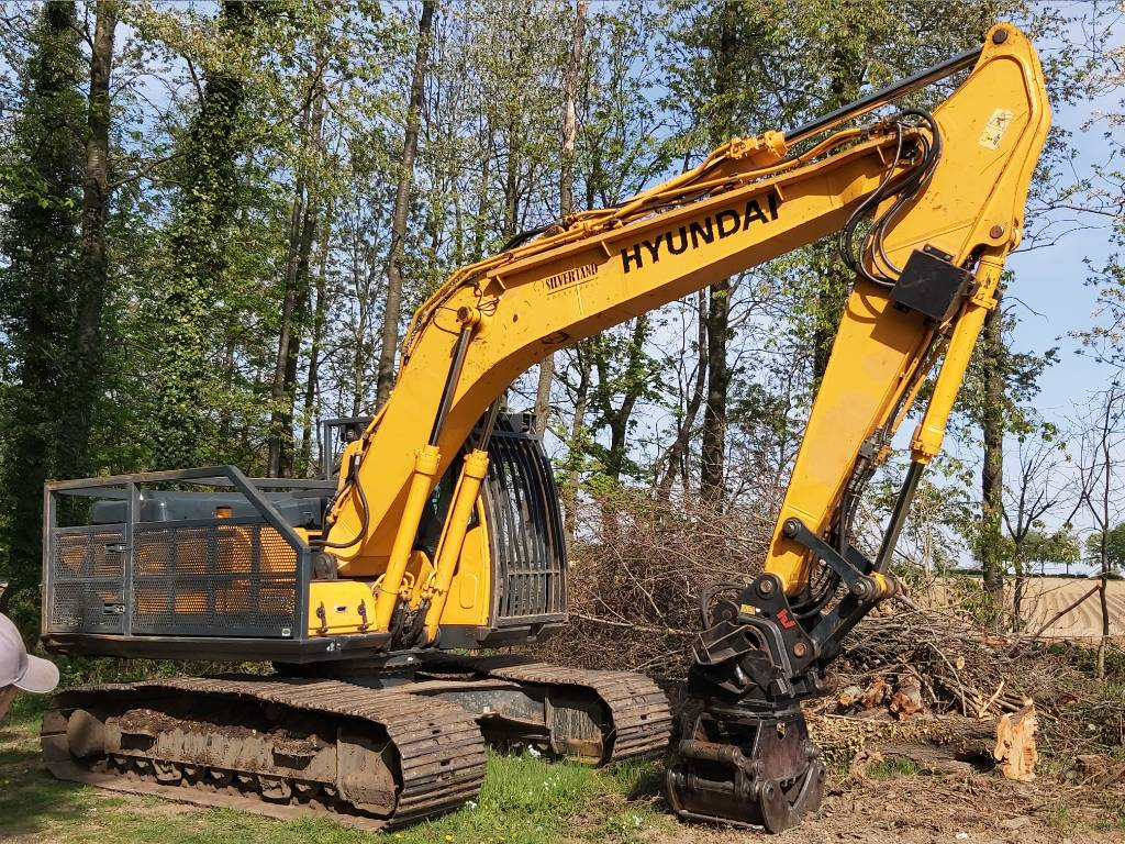 Forestry Machines For Sale - Hyundai Robex 220 LC-9 A 2015