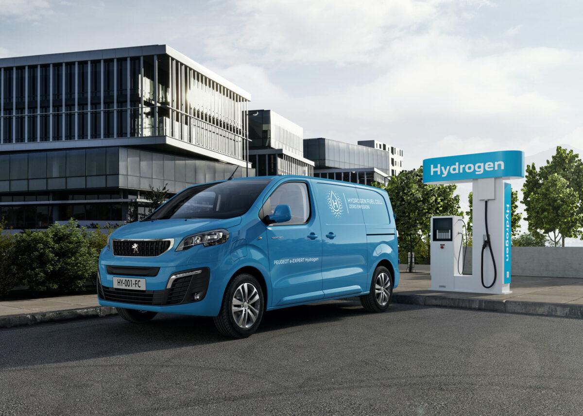 PEUGEOT e-EXPERT Hydrogen Van