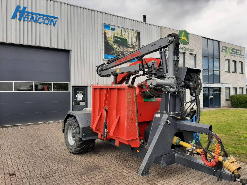 Forestry Machines For Sale - Ufkes Greentec 942W Chipper 2017