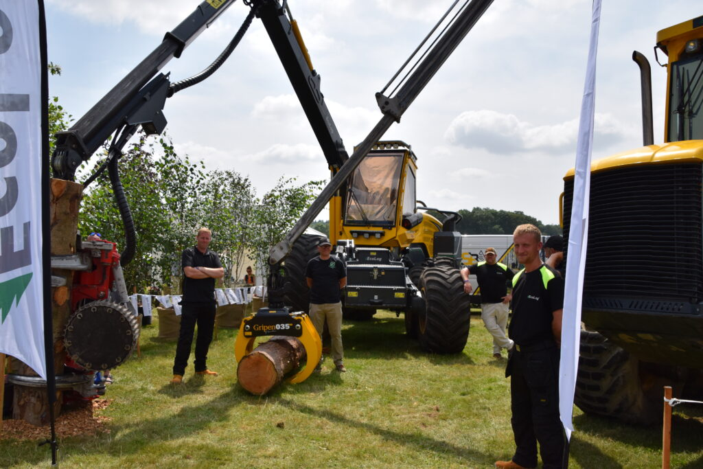 SB Forestry at the Game Fair 2021