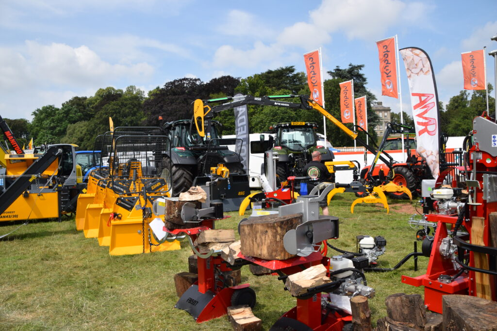 Fuelwood at the Game Fair 2021