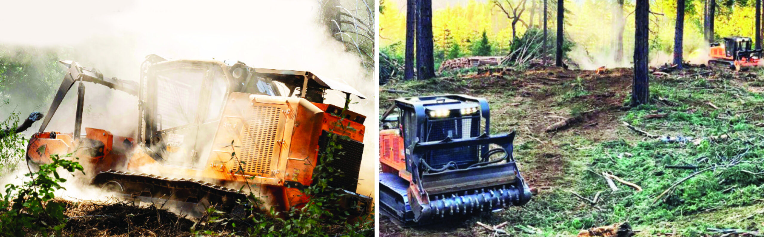 Fae Tracked Carriers for Forestry Fuels Reduction