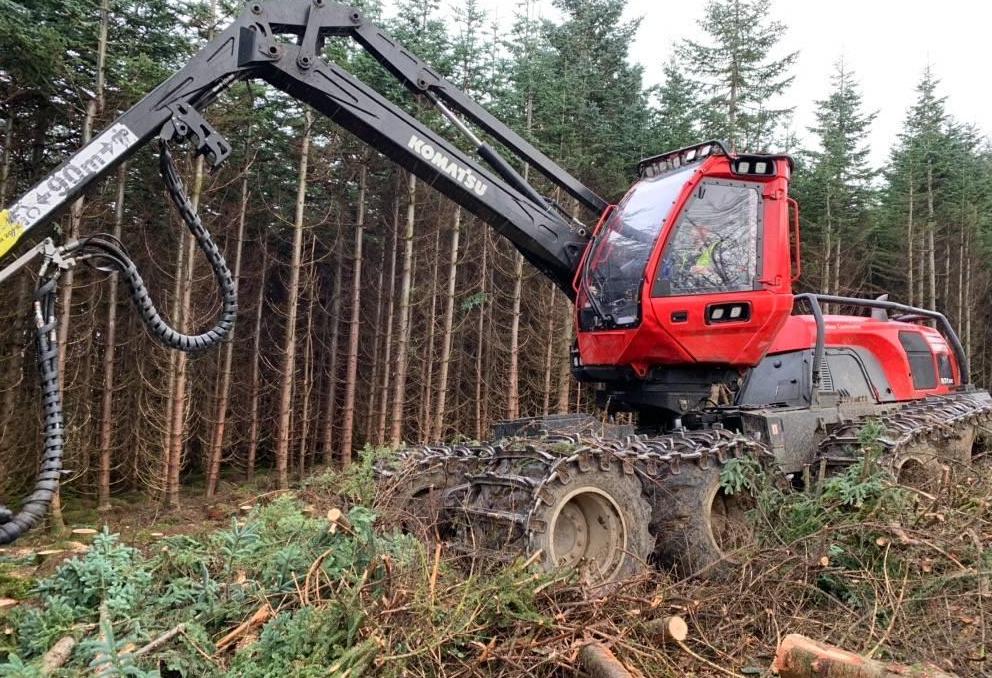 Used Forestry Equipment - Komatsu 931XC