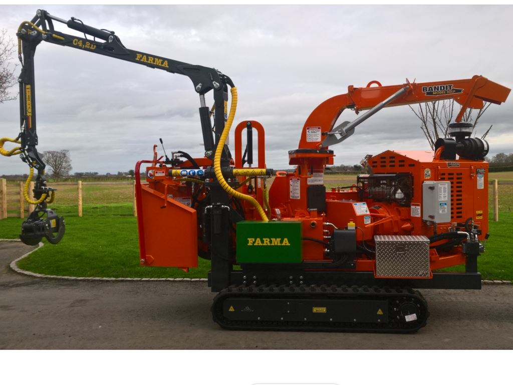 Used Forestry Machines - Bandit 90T