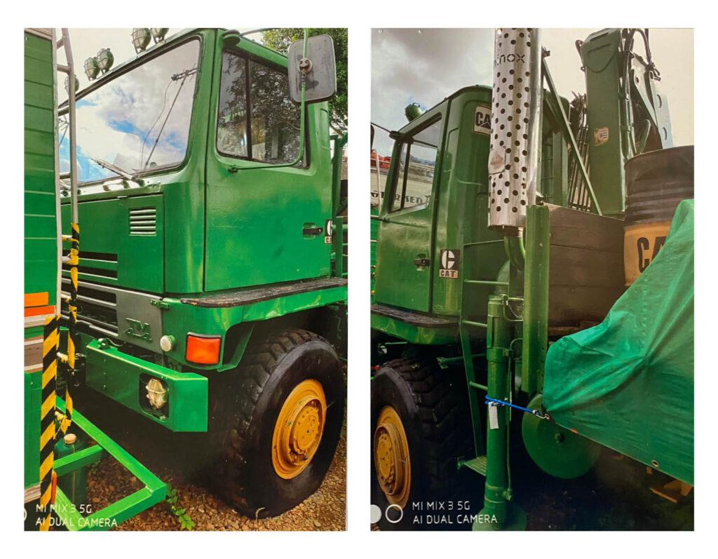 Used Forestry Machines - Bedford TM Hiab Cargo 4 x 4 Lorry