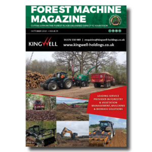 Forest Machine Magazine Front Cover - October 2021 - Kingwell Holdings