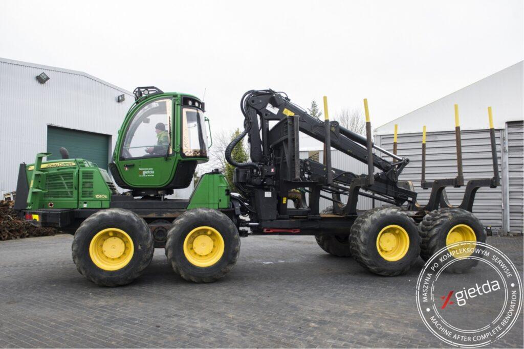 latest used forestry equipment for sale - Forwarder John Deere 1510E VLS