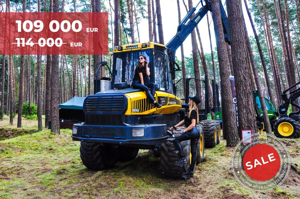 latest used forestry equipment for sale - Forwarder Ponsse Buffalo