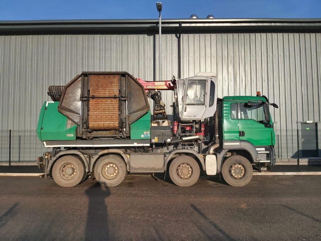 Used Forestry Machines - Komptech Chippo 5010C
