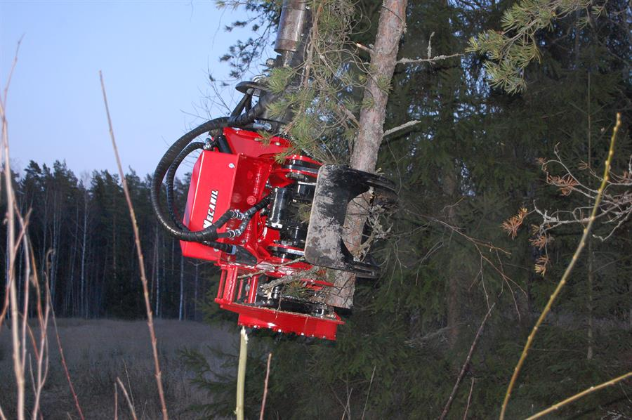 Used Forestry Machines - MECANIL- SG280 G2 grapplesaw
