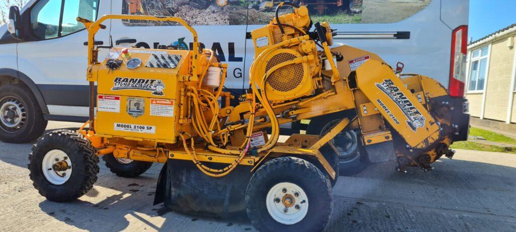 Machines For Sale - BANDIT 2100SP STUMP GRINDER