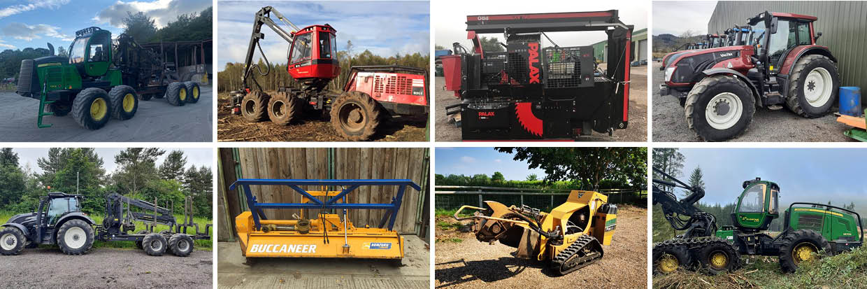 Used Forestry Machines For Sale